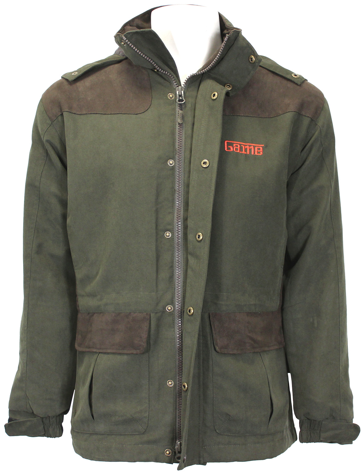 7bccd3a67cef8 Game Aston Pro Mens Jacket Green Waterproof & Breathable | Zikit